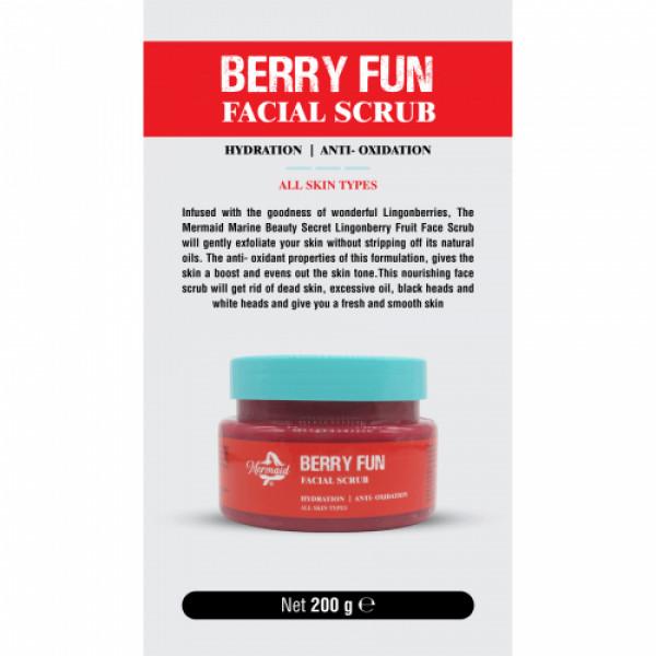 Mermaid Berry Fun Facial Scrub, 200gm