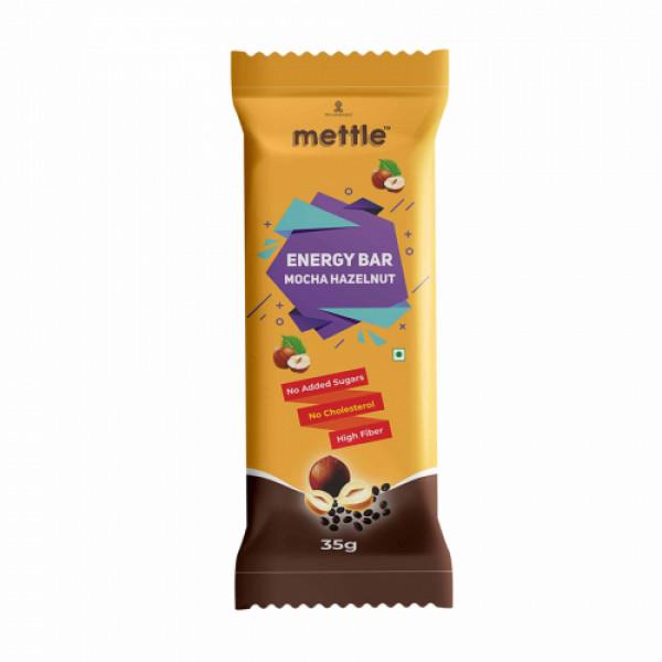 Mettle Mocha Hazelnut Energy Bar, 35gm  (Pack Of 12)