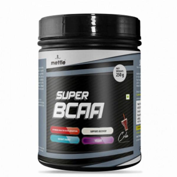 Mettle Super BCAA Cola, 250gm