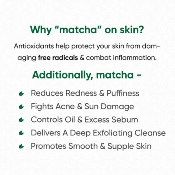Tencha Matcha Foaming Face Cleanser, 150ml