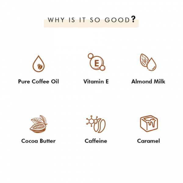 mCaffeine Coffee Beans Gift Kit, 300gm (Espresso, Cappuccino & Latte Coffee Bathing Bar Soaps)