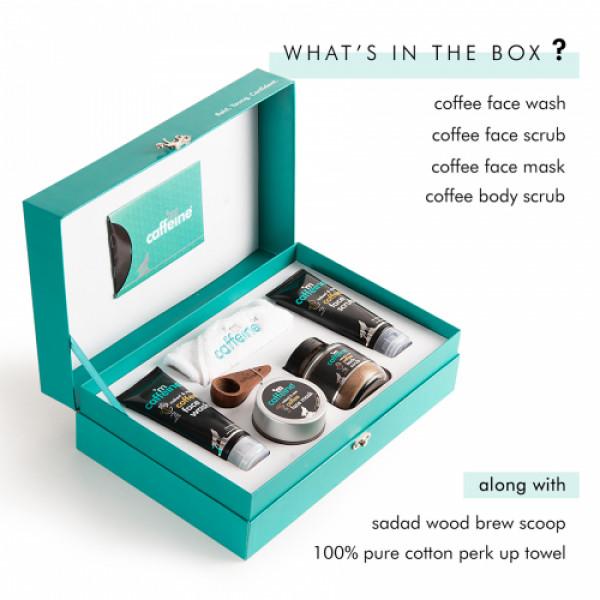 mCaffeine Coffee Mood Skin Care Gift Kit, 400gm