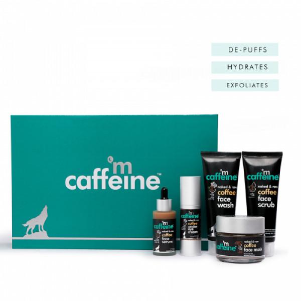 mCaffeine Coffee Look Gift Kit, 370gm