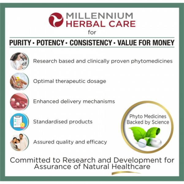 Millennium Herbal Care Gynovash Extra Freshness Foam Cleanser, 70ml