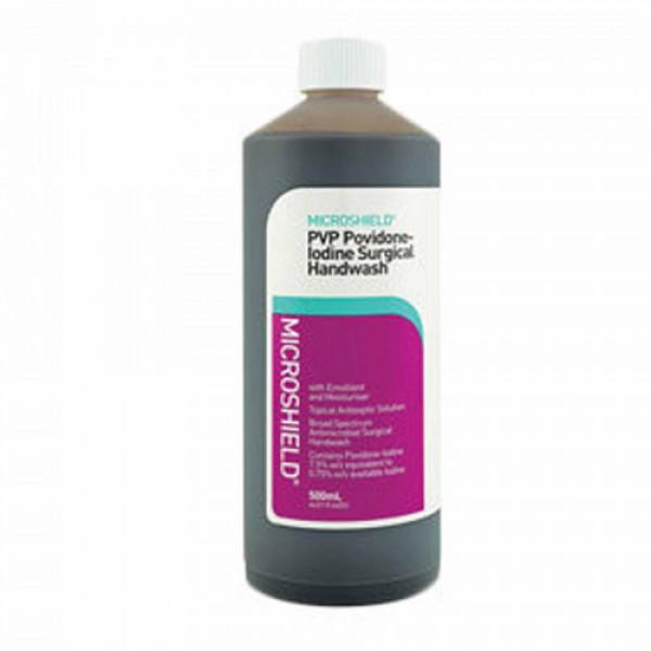 Microshield PVP Hand Wash - Disinfecting, 500ml