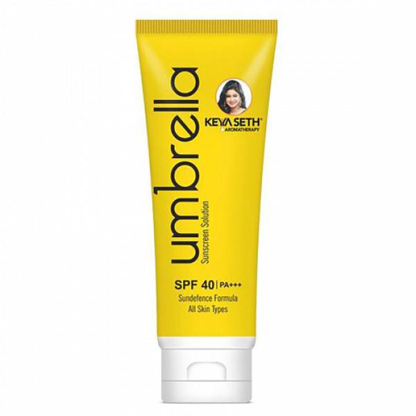 Keya Seth Aromatherapy Umbrella Sunscreen Solution SPF 40 & PA+++, 100ml