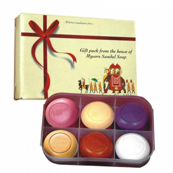 Mysore Sandal Wood Soap (Pack of 6)