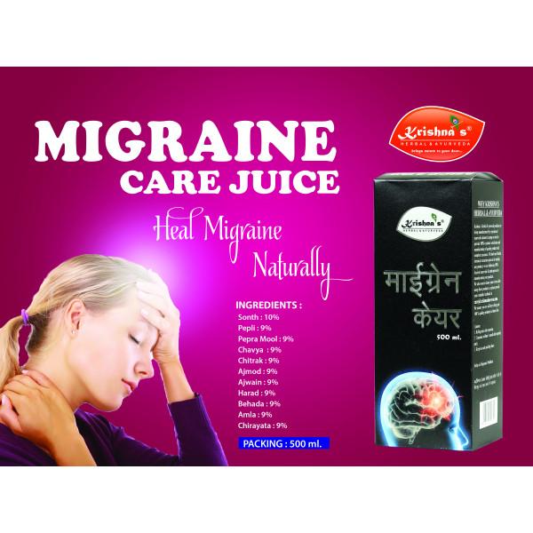Krishna's Migraine Care Juice, 500ml