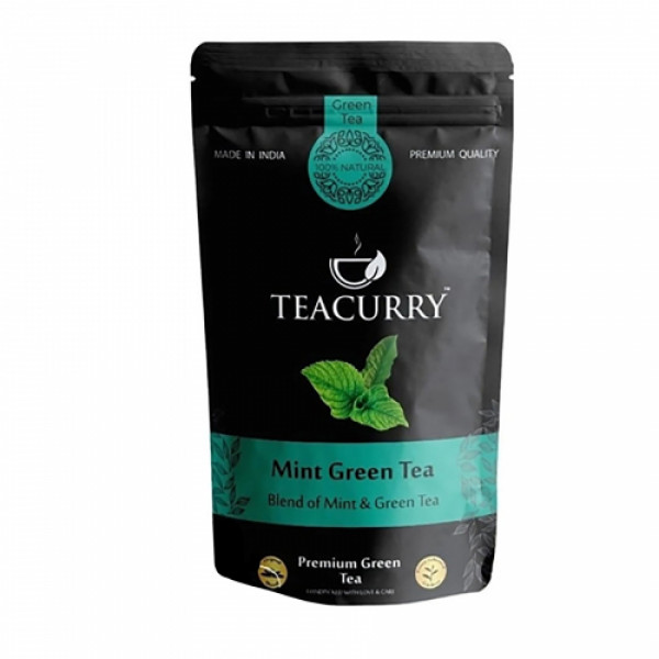 Teacurry Mint Green Tea, 100gm