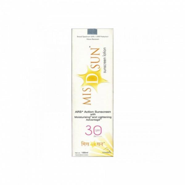 MIS D Sun Sunscreen Lotion SPF 30, 60ml