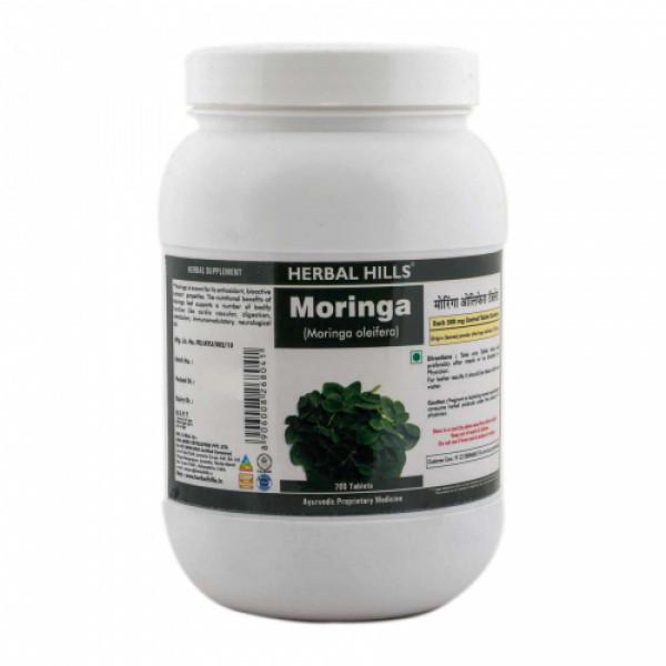 Herbal Hills Moringa, 700 Tablets