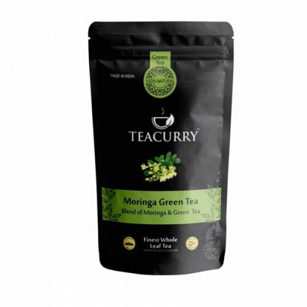 Teacurry Moringa Green Tea, 60 Tea Bags