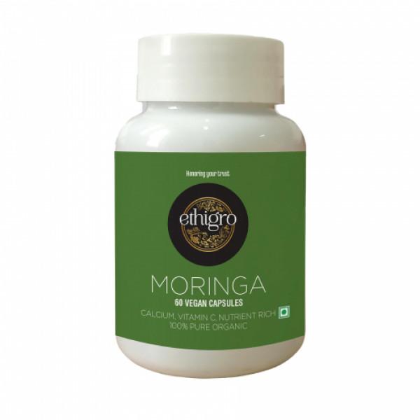 Ethigro Moringa, 60 Vegan Capsules