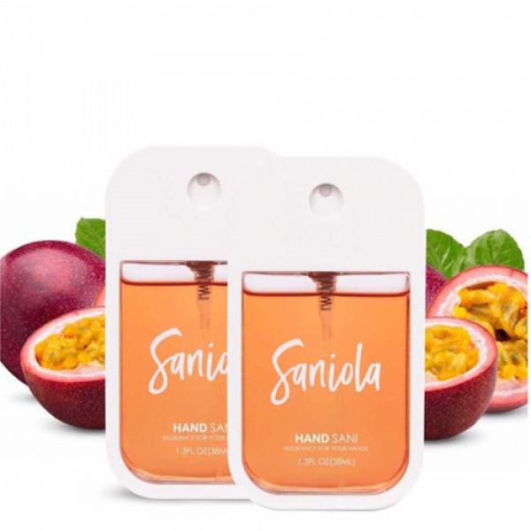Saniola Passion Fruit Hand Sani, Pack of 2