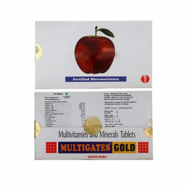 Multigates Multi, 10 Tablets