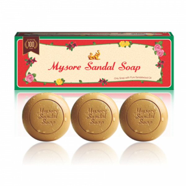 Mysore Sandal Wood Soap, Pack of 3