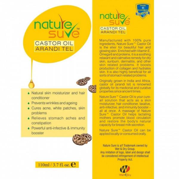 Nature Sure Castor Oil, 110ml