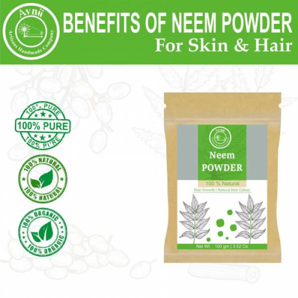 Avnii Organics Neem Powder, 100gm