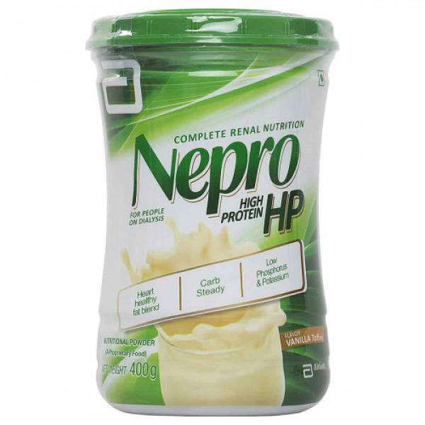 Nepro HP Powder - Vanilla Toffee Flavor, 400 gm