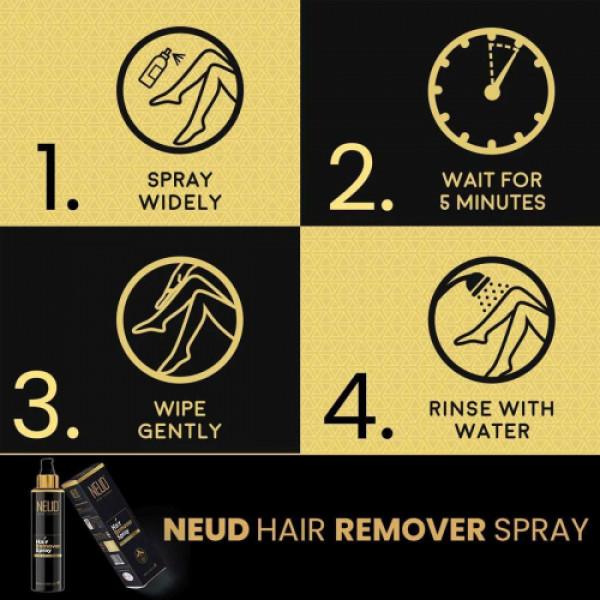 Neud Hair Remover Spray, 100ml