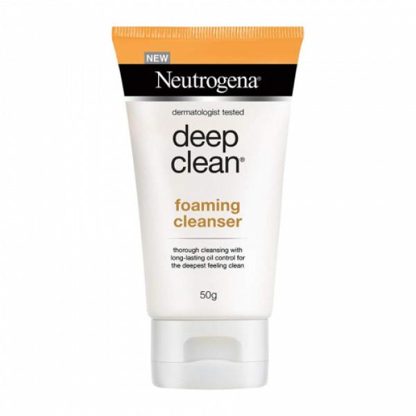 Neutrogena Deep Clean Foaming Cleanser, 50gm