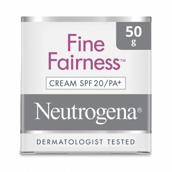 Neutrogena Fine Cream SPF20, 50gm