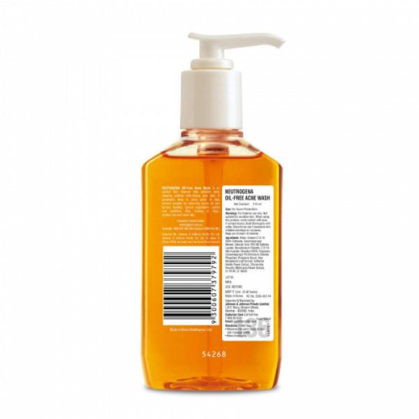 Neutrogena Oil Free Acne Wash, 175ml
