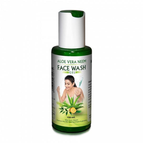 Nisargalaya Aloe Vera Face Wash, 100ml