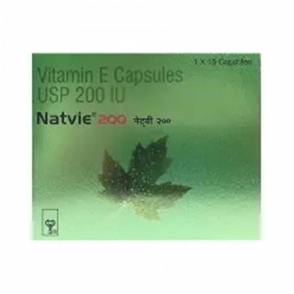 Natvie 200 Capsule, 15 Capsules