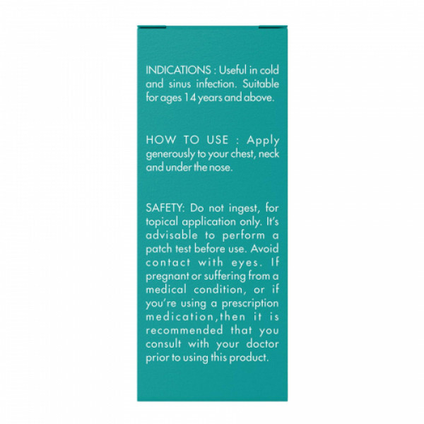 Herb Tantra No Congest Roll On, 9ml