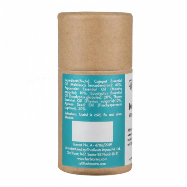 Herb Tantra No Congest Steam Inhalation Oil, 15ml