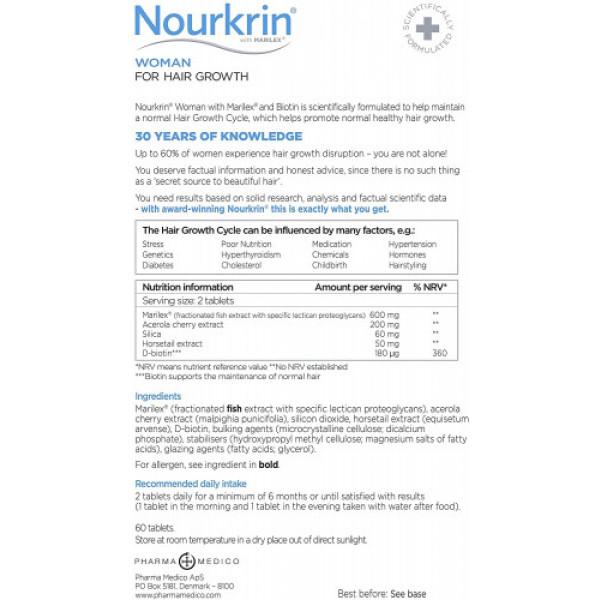 Nourkrin Woman, 60 Tablets