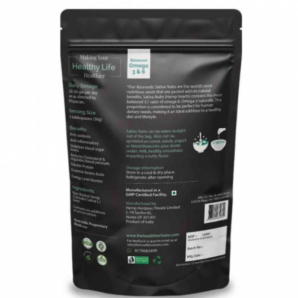 Health Horizons Hemp Sativa Nubs, 500gm