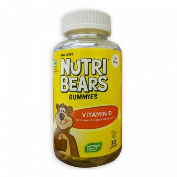 Nutribears Vitamin D, 30 Gummies