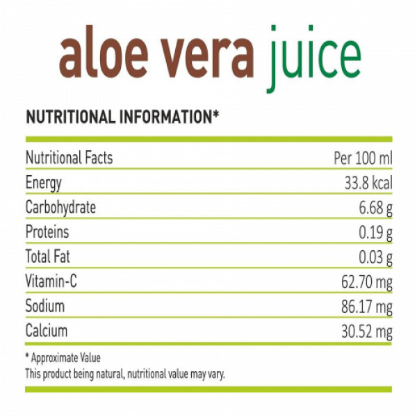 Nutriorg Aloevera Juice, 500ml