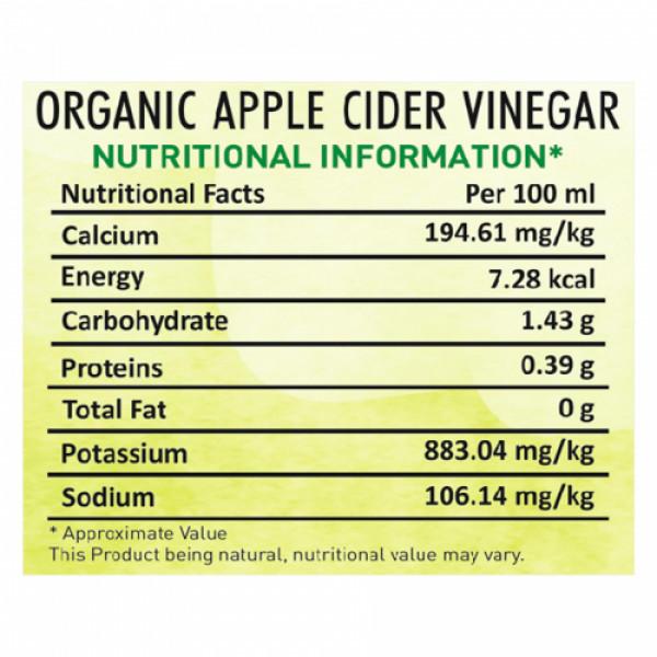 Nutriorg Apple Cider Vinegar, 250ml