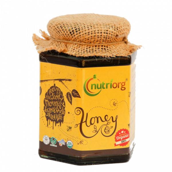 Nutriorg Organic Honey, 250gm (Pack of 2)