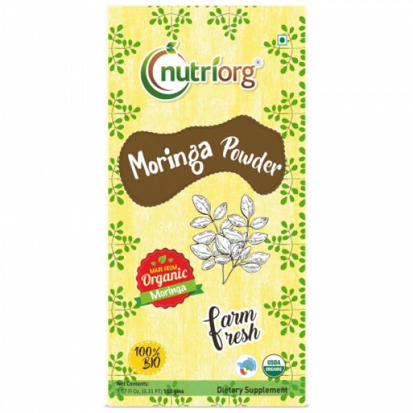Nutriorg Organic Moringa Powder, 150gm