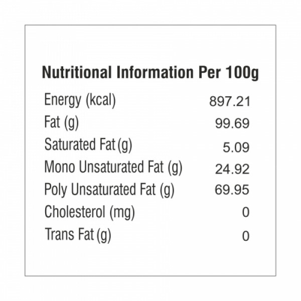 Nutriorg Organic Mustard Oil, 1000ml