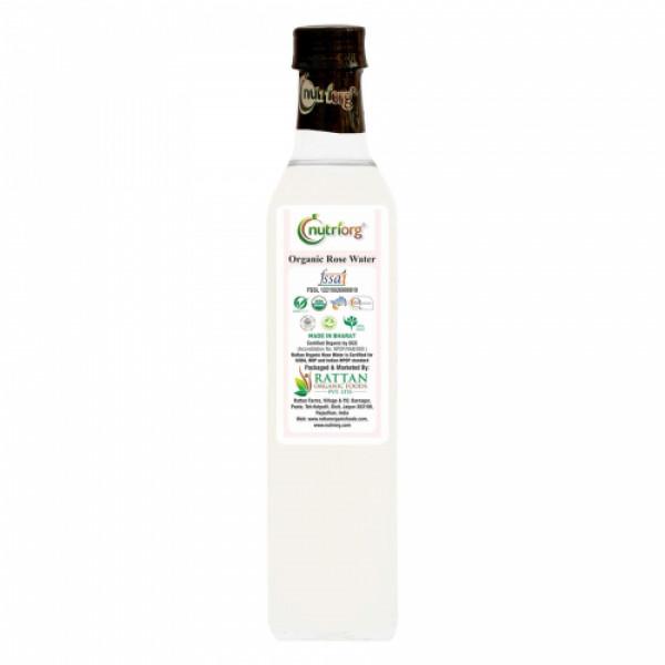 Nutriorg Organic Rose Water, 250ml