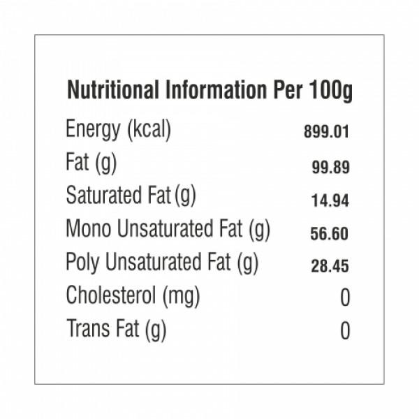 Nutriorg Organic Sesame Oil, 1000ml