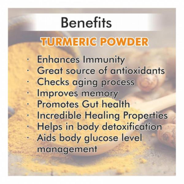 Nutriorg Organic Turmeric Powder, 250gm