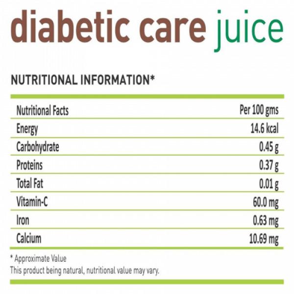 Nutriorg Diabetic Care Juice, 1000ml