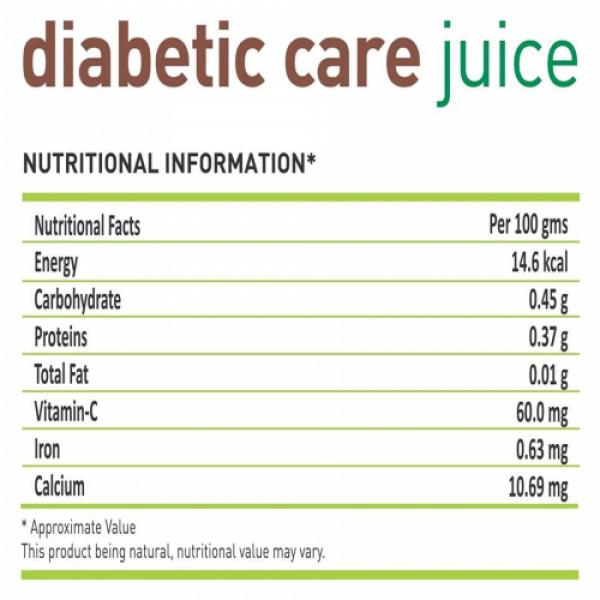 Nutriorg Diabetic Care Juice, 500ml
