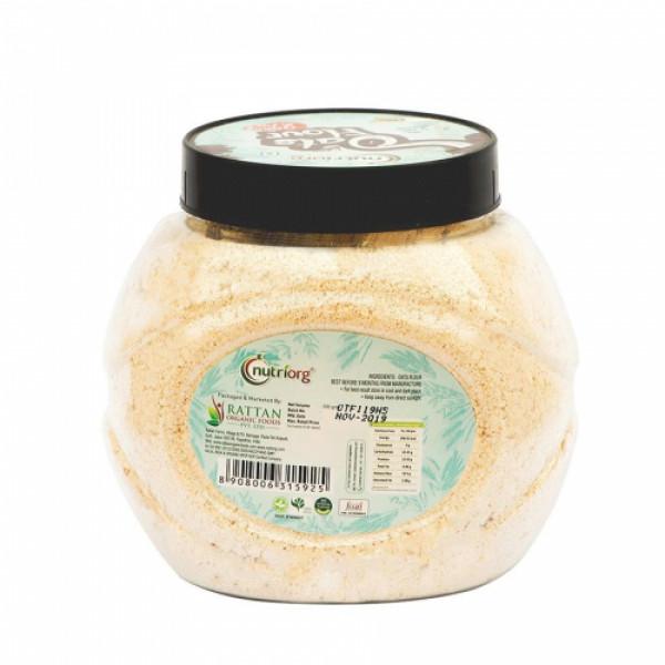 Nutriorg Flour Oats, 500gm (Pack of 2)