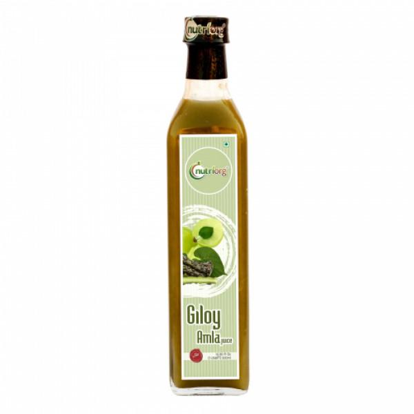 Nutriorg Giloy with Neem Tulsi Juice, 500ml