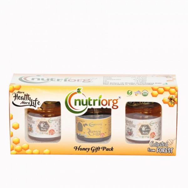 Nutriorg Honey gift pack, 150gm