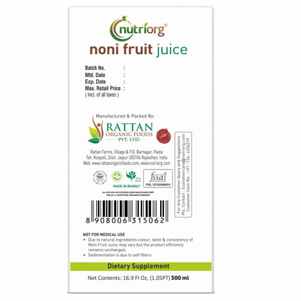 Nutriorg Noni Juice, 500ml
