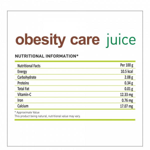 Nutriorg Obesity Care Juice, 500ml