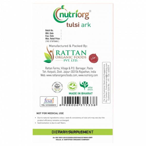 Nutriorg Tulsi Ark, 30ml (Pack of 2)